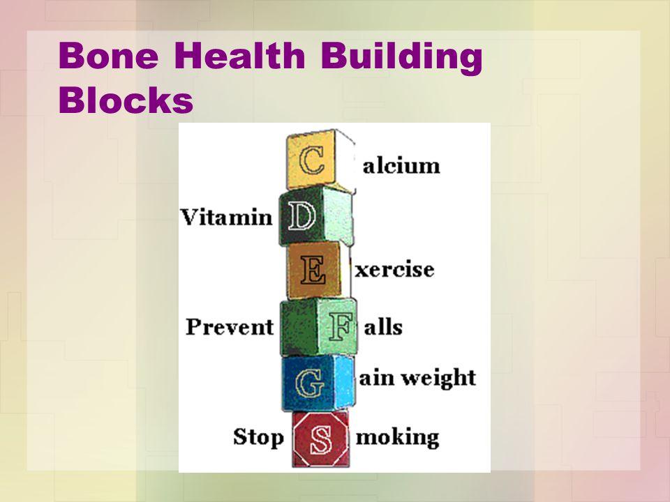 Bone Health Building Blocks