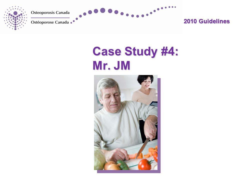 2010 Guidelines Mr.JM: Conclusions Mr.