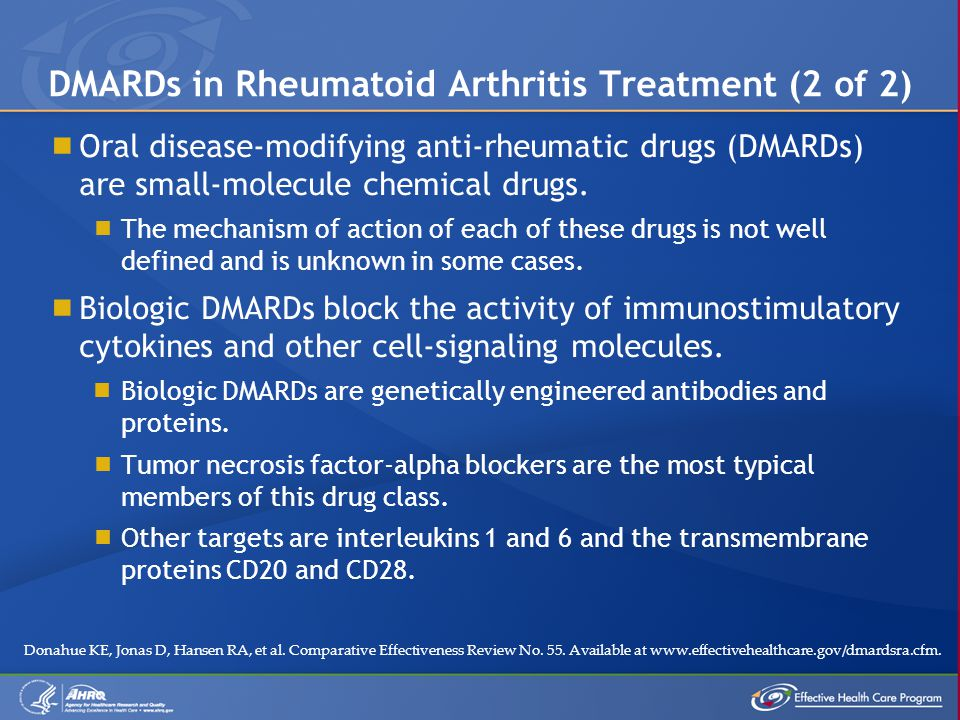  Oral disease-modifying anti-rheumatic drugs (DMARDs) are small-molecule chemical drugs.
