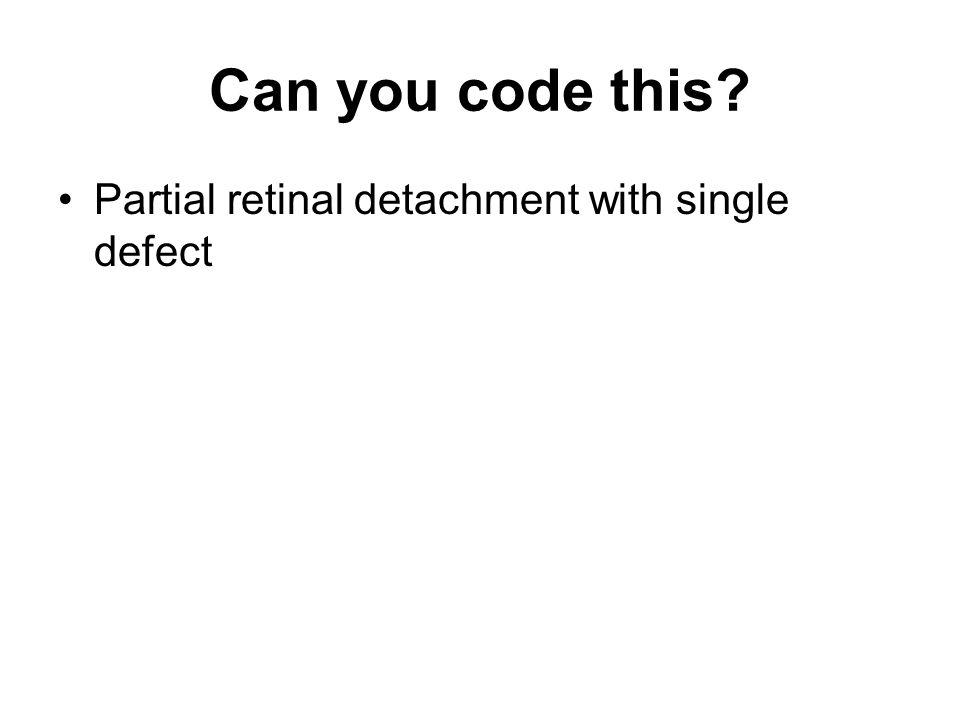 Can you code this? Ringing in the ears, vertigo