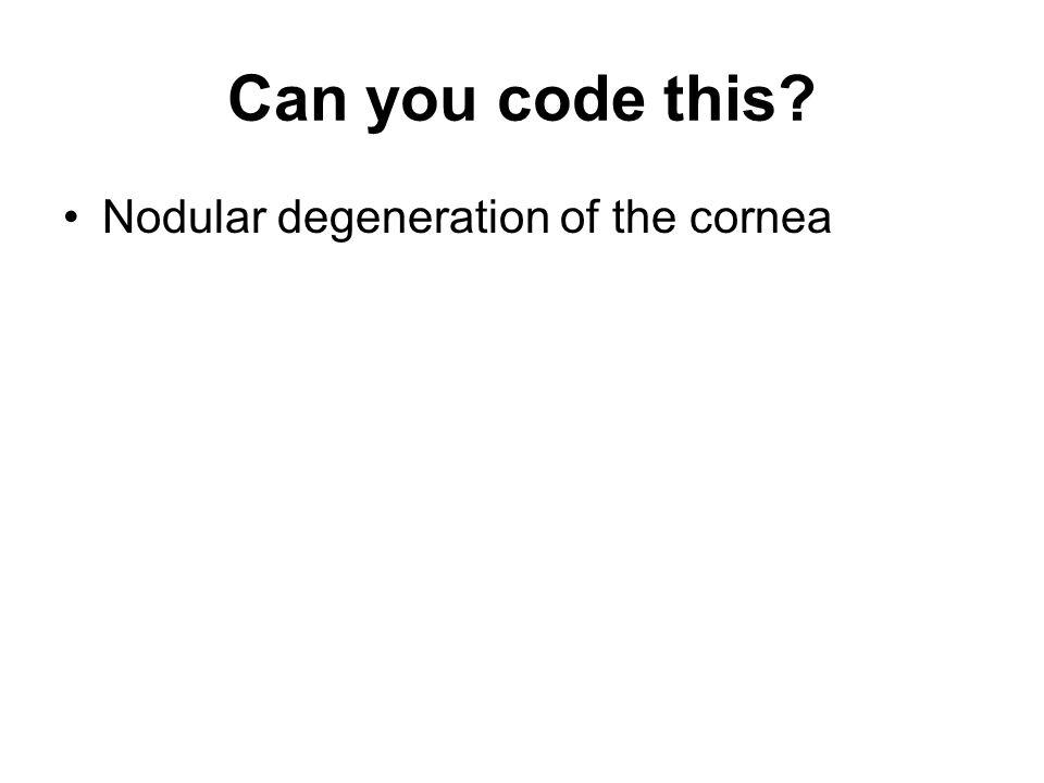Can you code this? Chronic osteomyelitis of the sacrum
