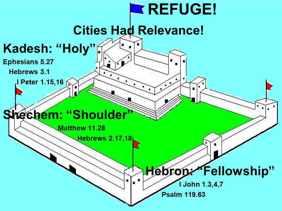 REFUGE. Cities Had Relevance.