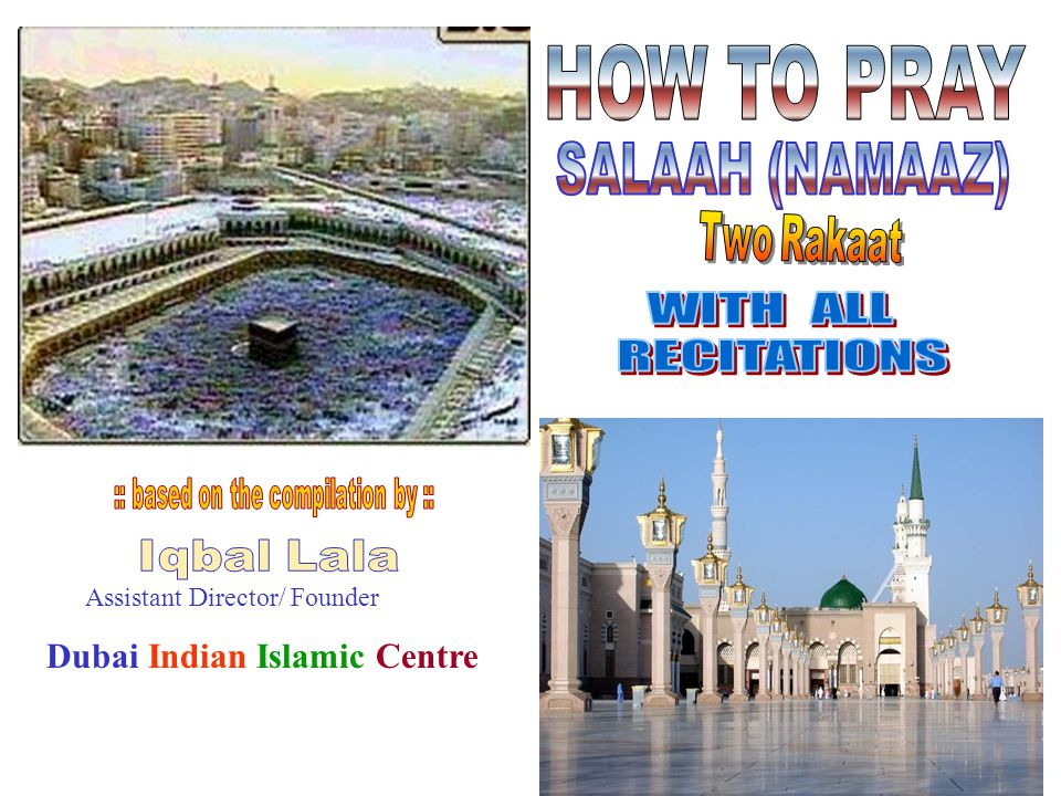 Assistant Director/ Founder Dubai Indian Islamic Centre