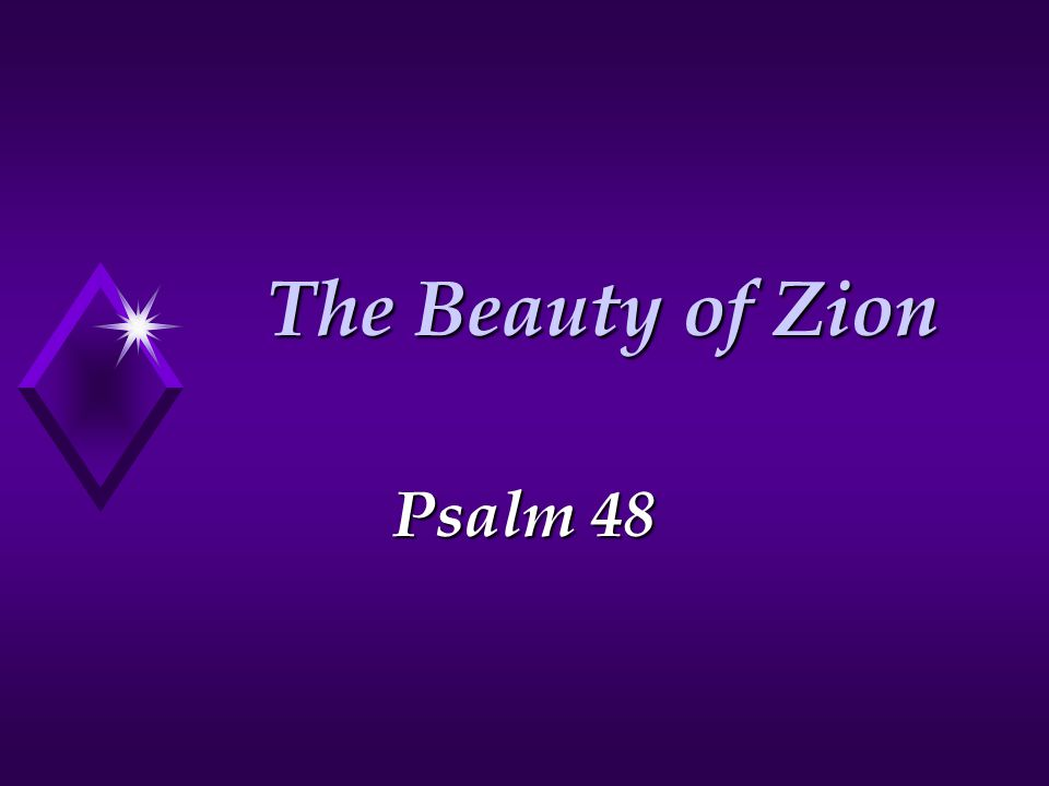 2 Zion of the Jebusites Stronghold of ZION (City of David) 2 Sam.