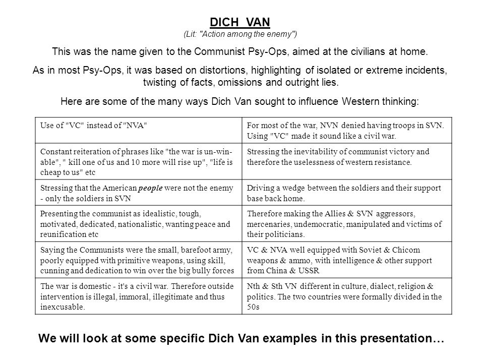 THIS SLIDE AND PRESENTATION WAS PREPARED BY DAVE SABBEN WHO RETAINS COPYRIGHT © ON CREATIVE CONTENT DICH VAN (Lit: