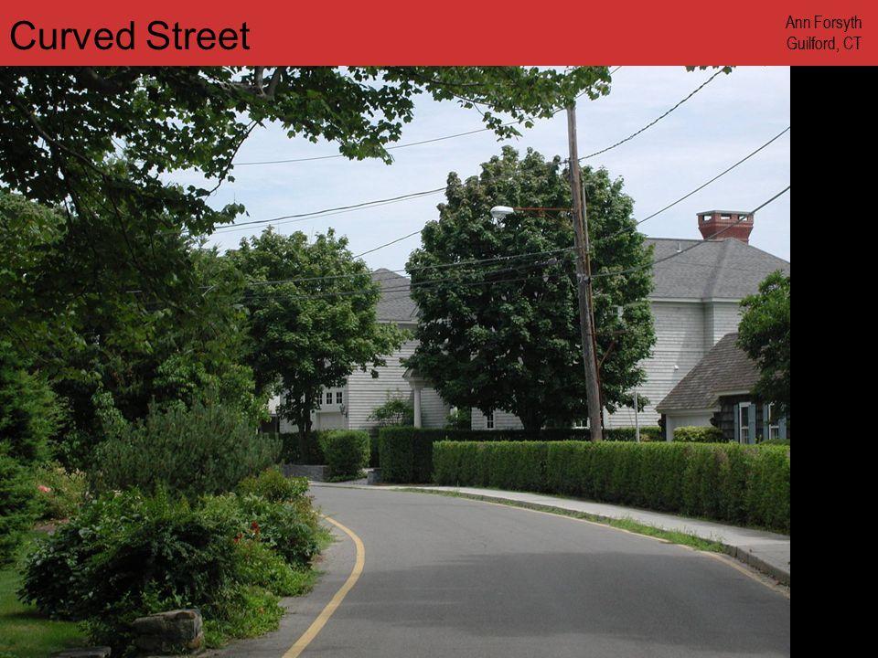 www.annforsyth.net Curved Street Ann Forsyth Guilford, CT