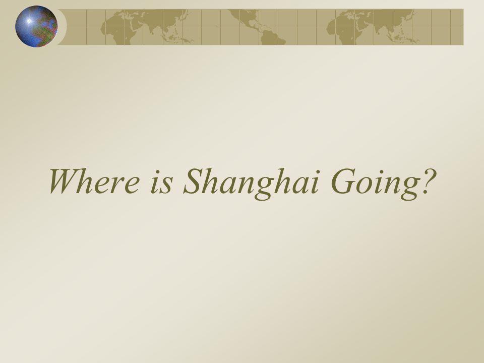 Where is Shanghai Going