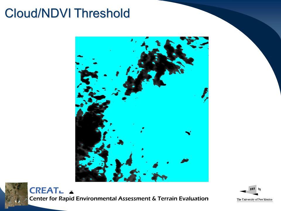 Cloud/NDVI Threshold