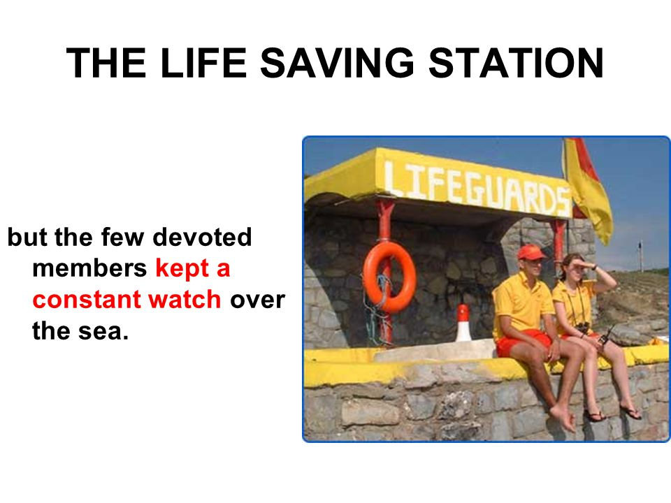 THE LIFE SAVING STATION PHASE THREE – DECADENCE Members Strong differences regarding goals, administration, style of living,..