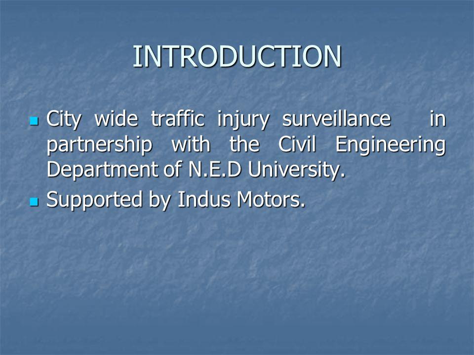 Risk of Vehicle Involvement in RTI