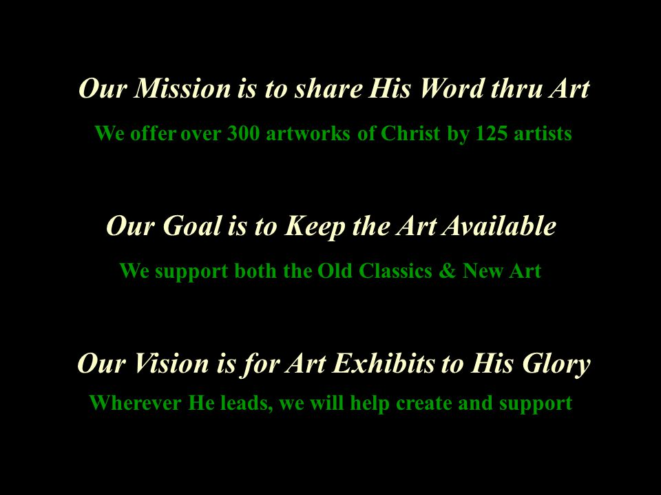The Great Commission is to Spread His Light May this Art reach out to All who seek Him