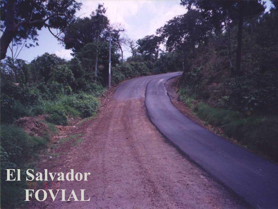 El Salvador FOVIAL
