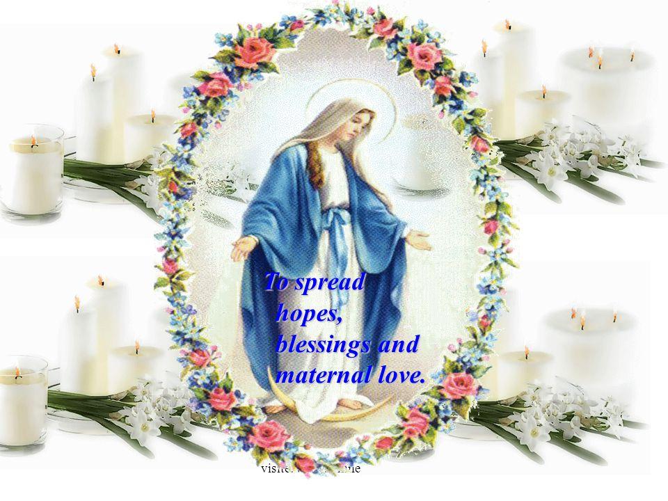 visite: www.wmnett.com.br To spread hopes, blessings and maternal love.