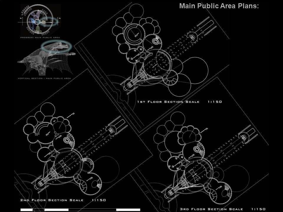 Main Public Area Plans: