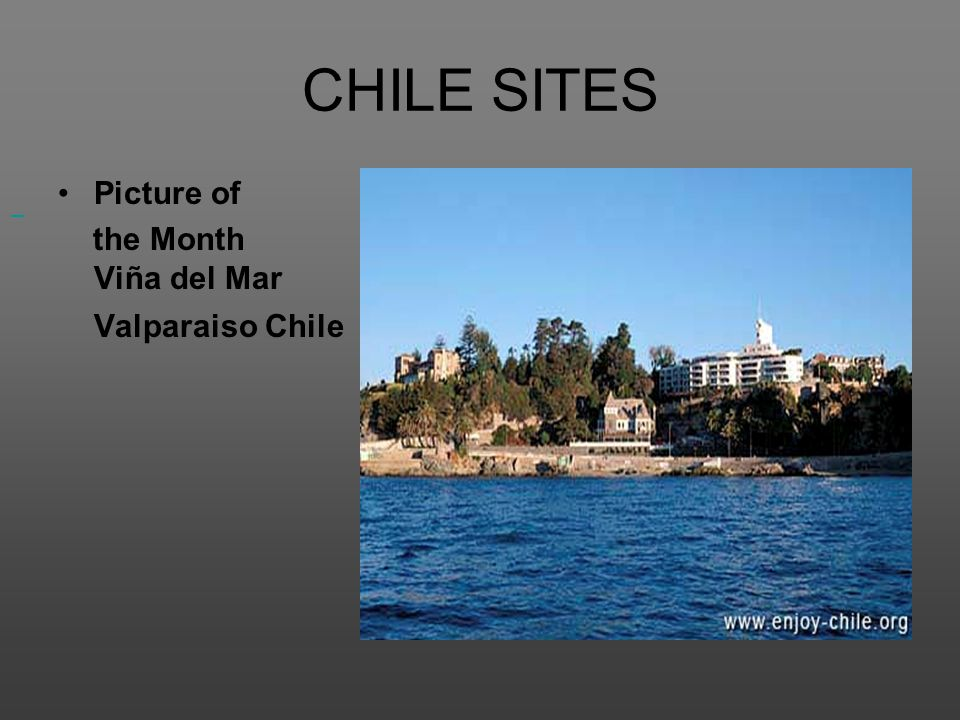 CHILE SITES Picture of the Month Viña del Mar Valparaiso Chile