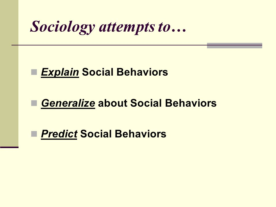 Applied Sociology Social research used to help solve specific social problems in specific social settings.