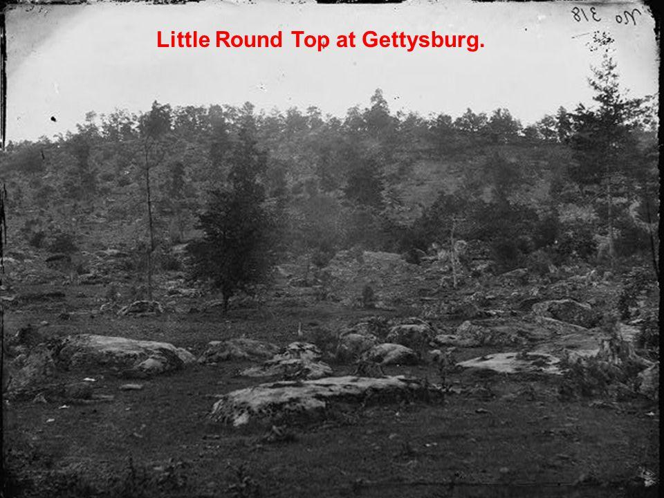 Little Round Top at Gettysburg.