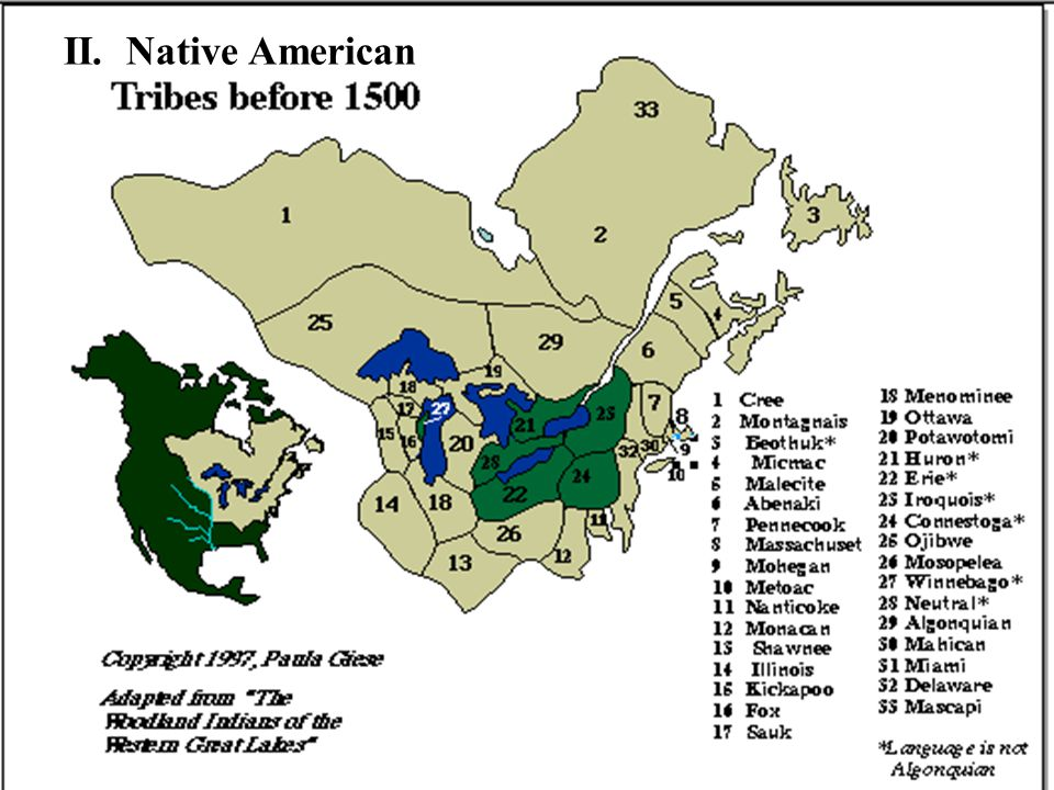 II. Native American