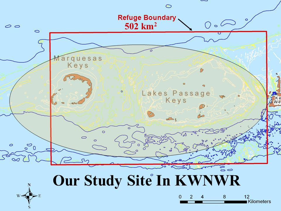 Refuge Boundary 502 km 2 Our Study Site In KWNWR