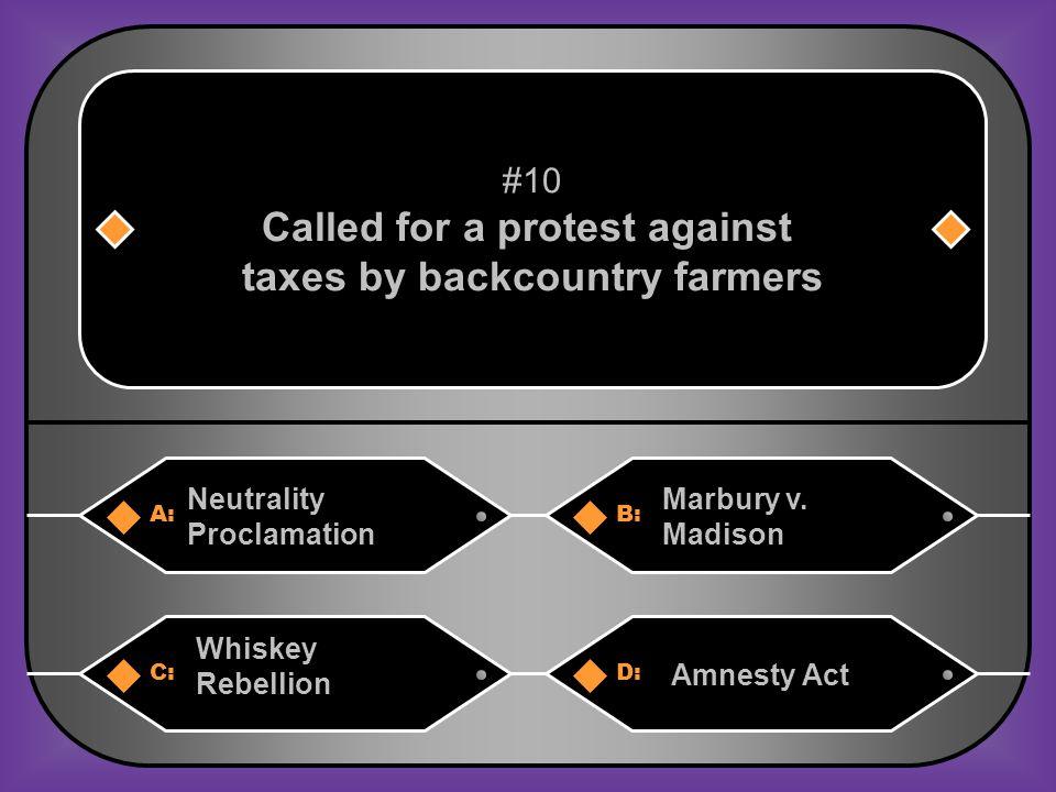 B. Judiciary Act