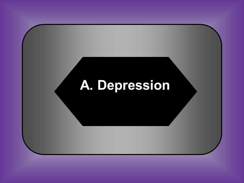 A:B: DepressionAmnesty C:D: RendezvousRefuge #25 Period of declining profits and lost jobs