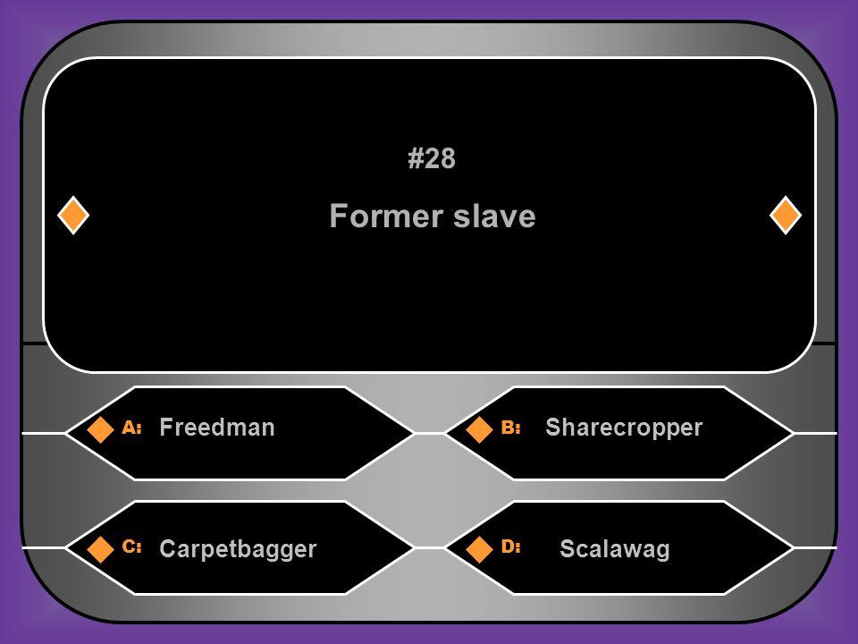 B. Sharecropper