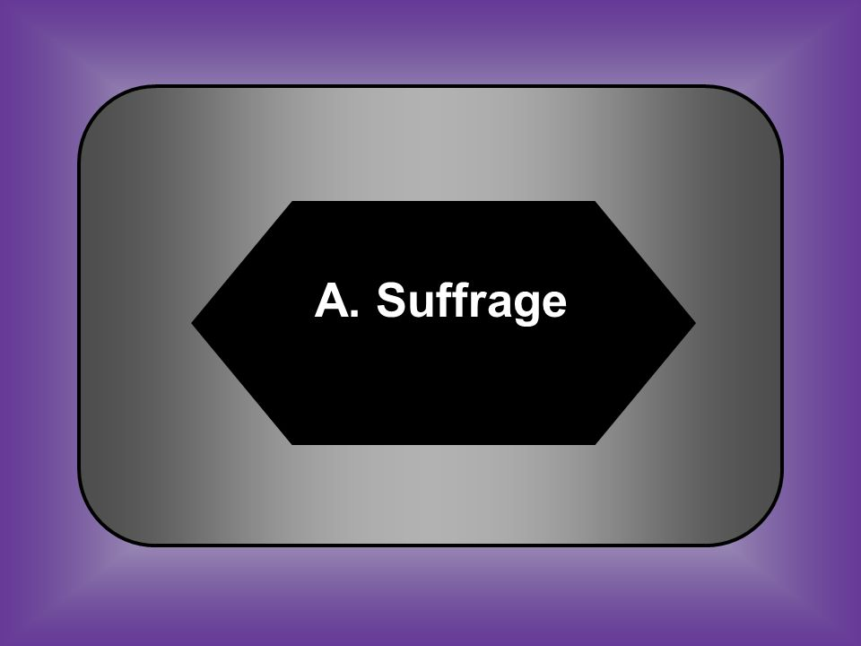 A:B: SuffrageMajority C:D: National debtFaction #41 Right to vote