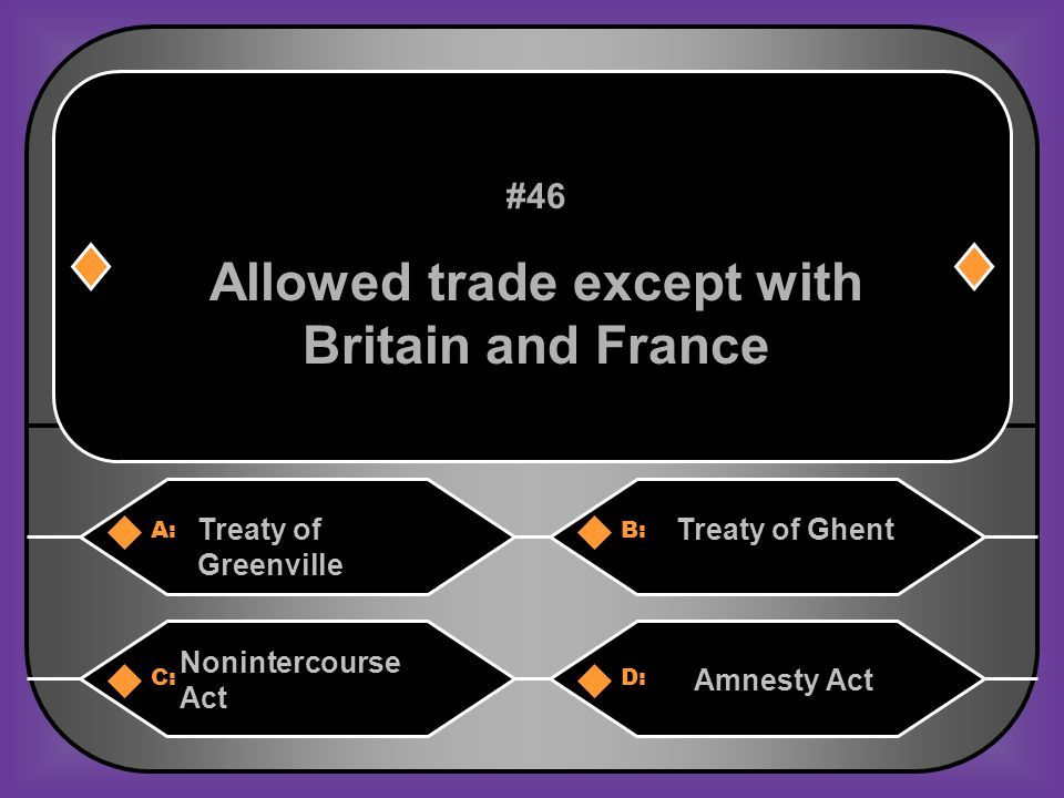 D. Pinckney Treaty