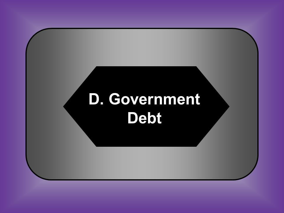 A:B: FactionAmnesty C:D: Suffrage Government debt #49 Total amount of money that a government owes to others
