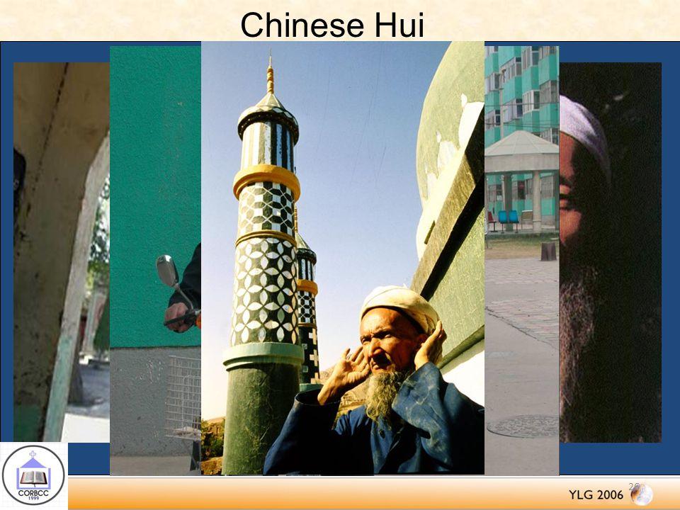 Chinese Hui 26