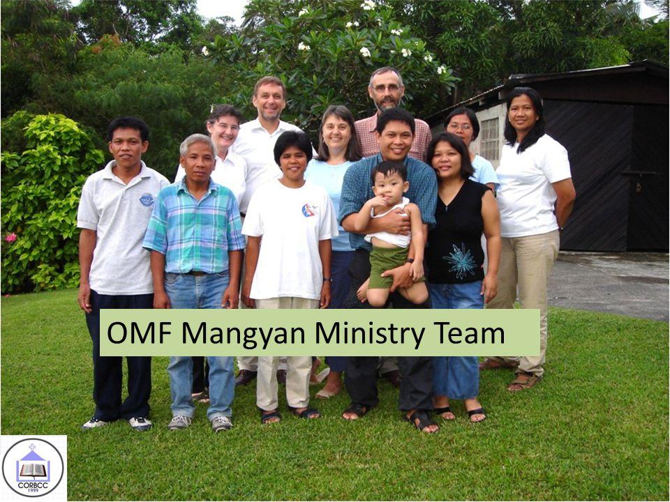 5 OMF Mangyan Ministry Team