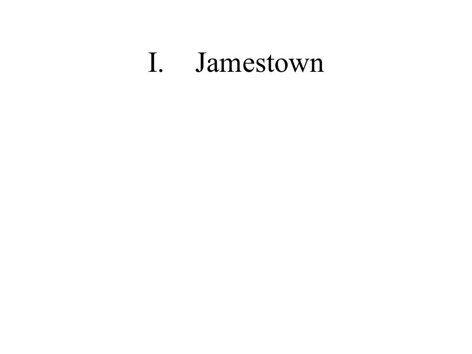 I.Jamestown