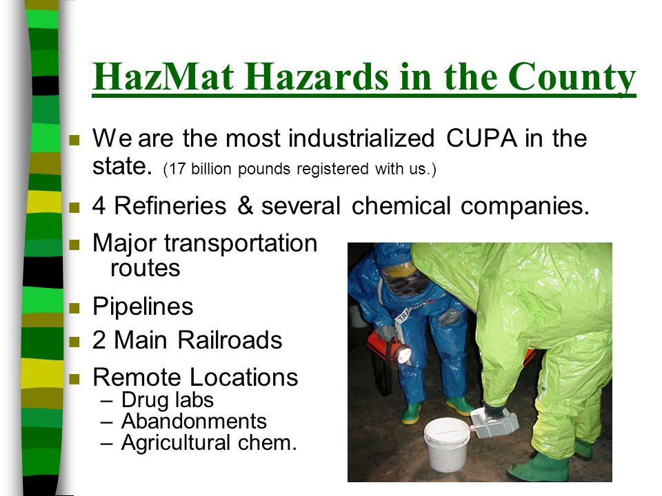 Questions / Evaluations HazMat Topics / Issues / Concerns to address in the future.