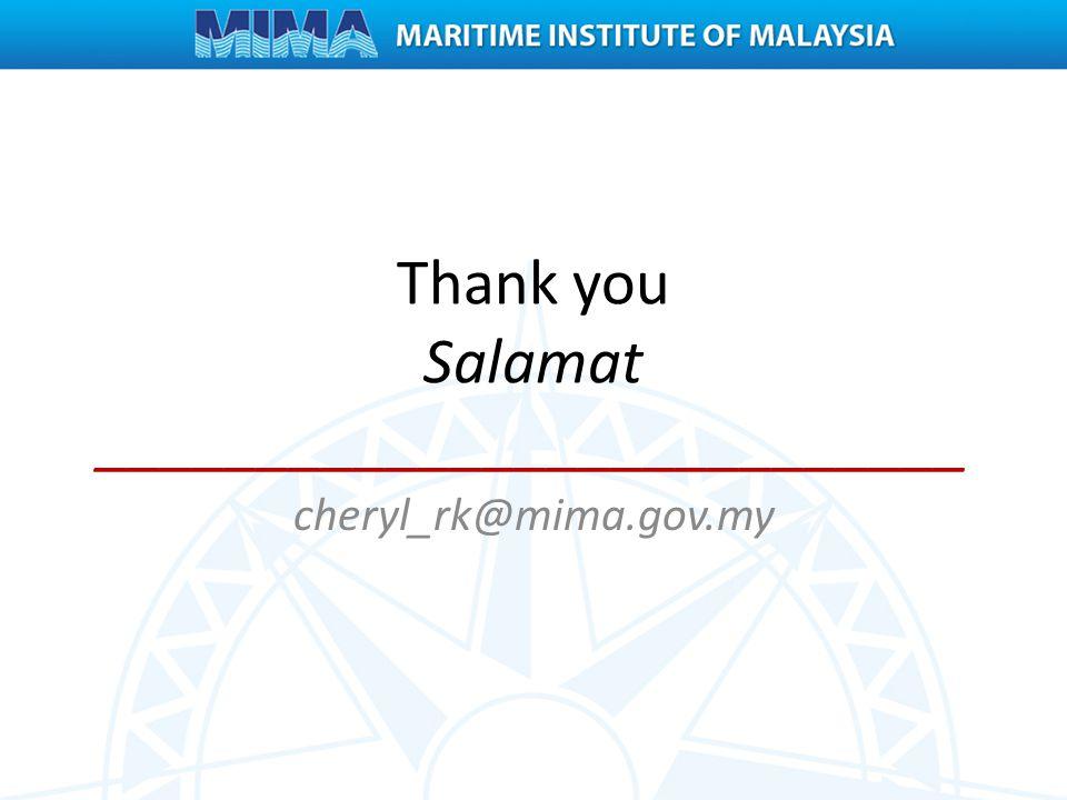 Thank you Salamat ___________________________ cheryl_rk@mima.gov.my