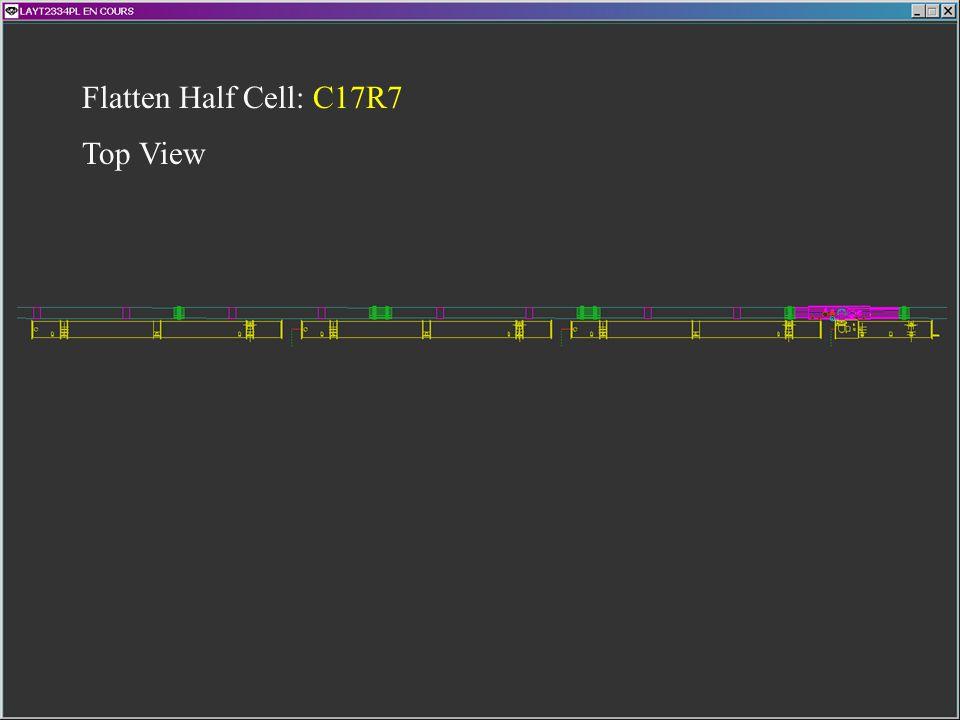Flatten Half Cell: C17R7 Top View