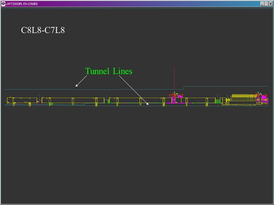 C8L8-C7L8 Tunnel Lines