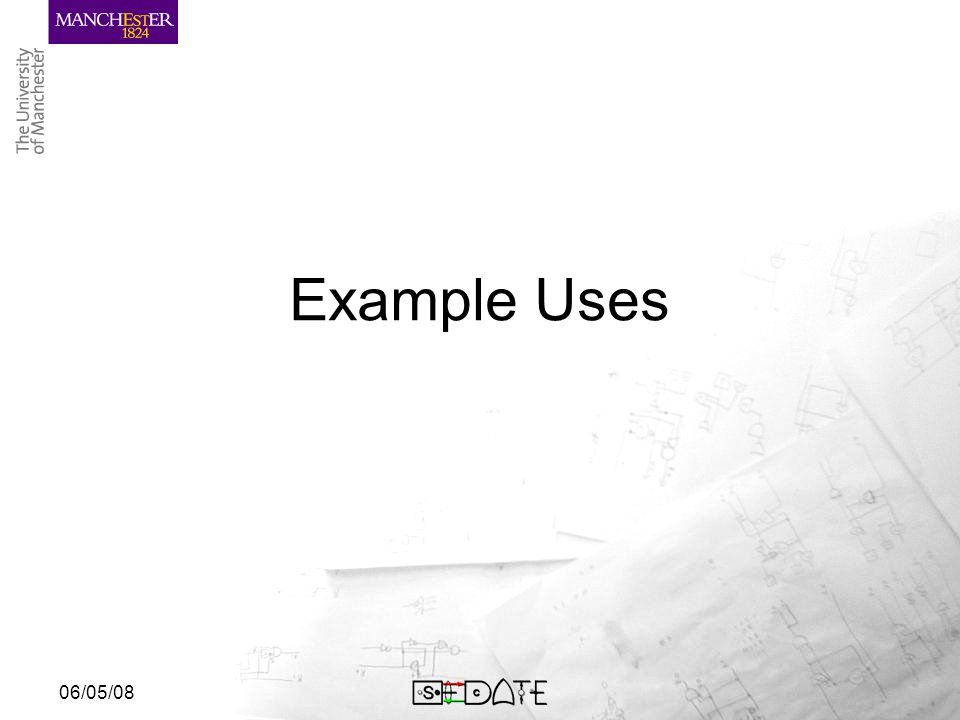06/05/08 Example Uses