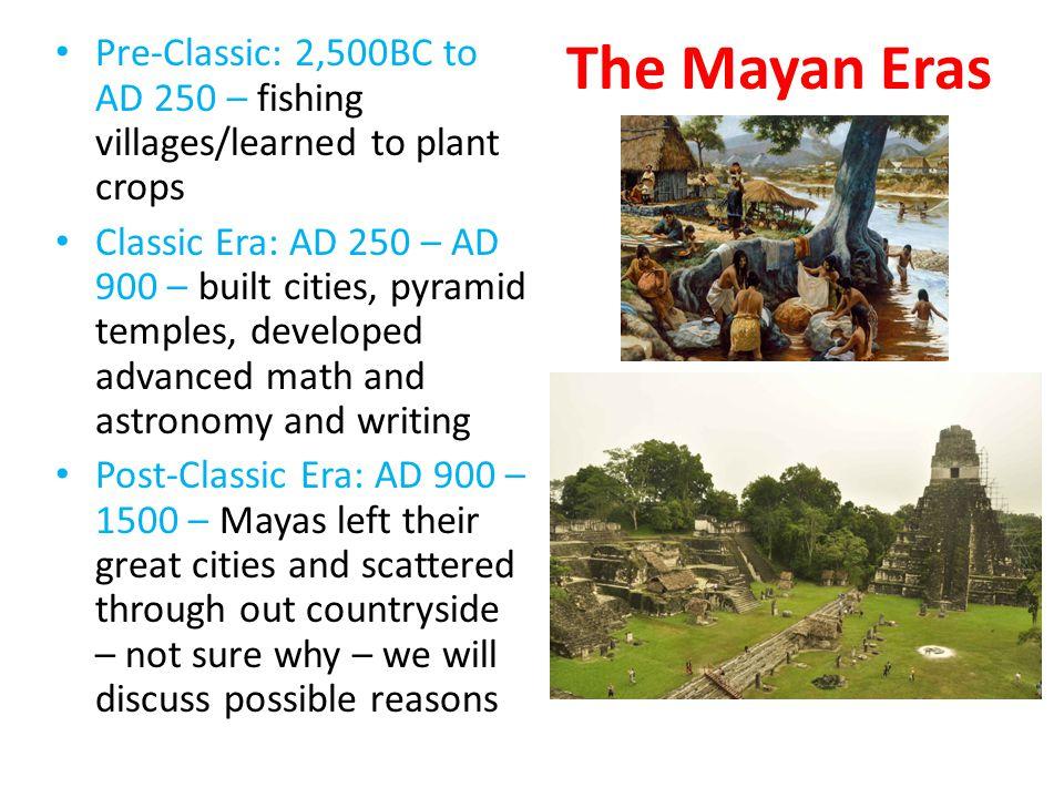The Maya - Tikal Largest city - Tikal (in present day Guatemala) – 100,000+ people