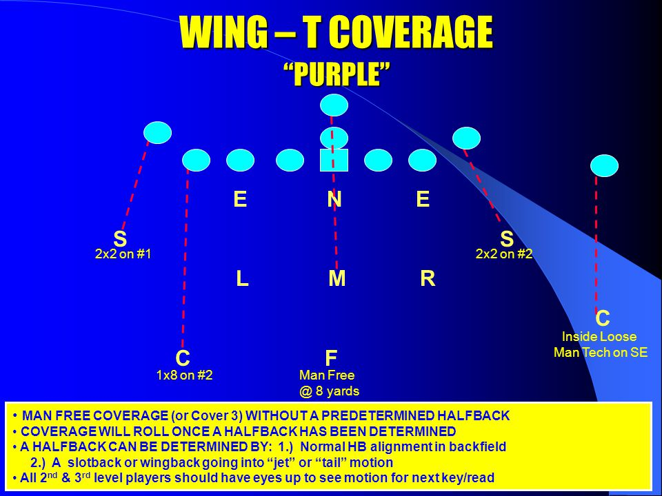 WING-T SCHEME Base * Tight * Bash * X Bear Special ** DE to TE side plays loop scheme in Base – Eyes on TE while in stance and attack him (TE) with eyes in C gap.