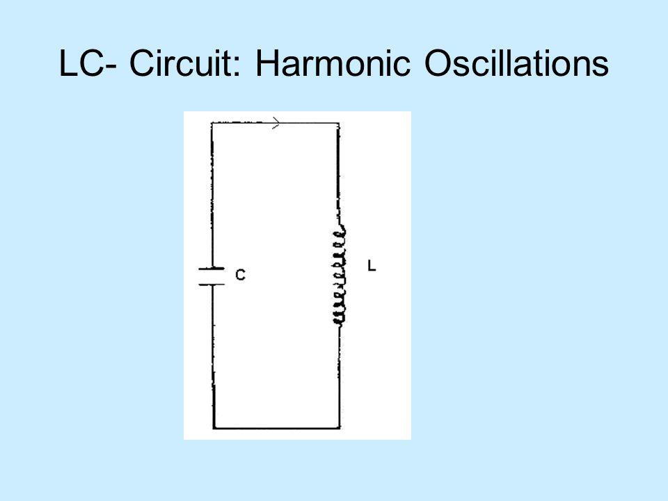 LC- Circuit: Harmonic Oscillations