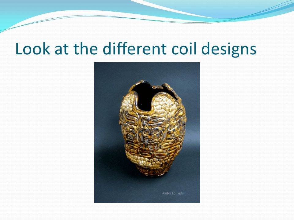 Look at the different coil designs