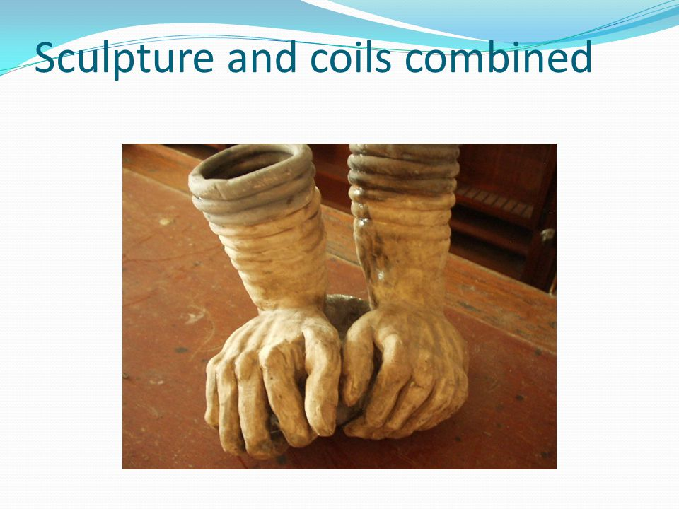 Sculpture and coils combined