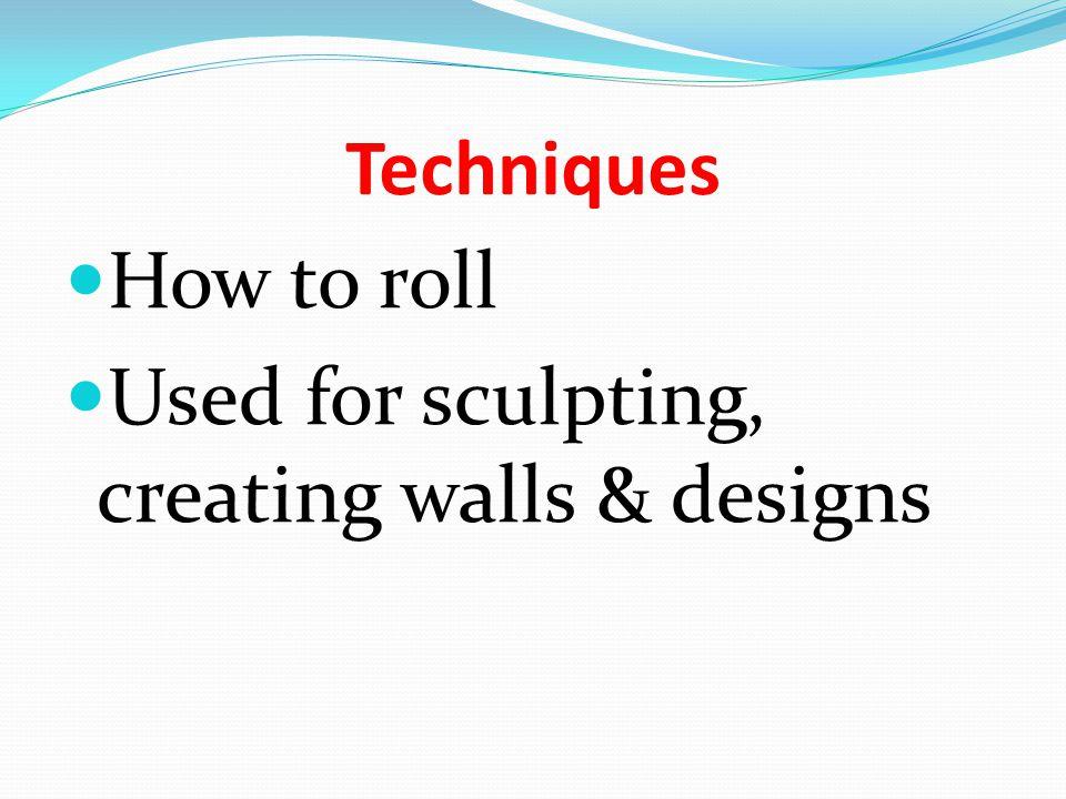Weaving can be seen as a sculpture