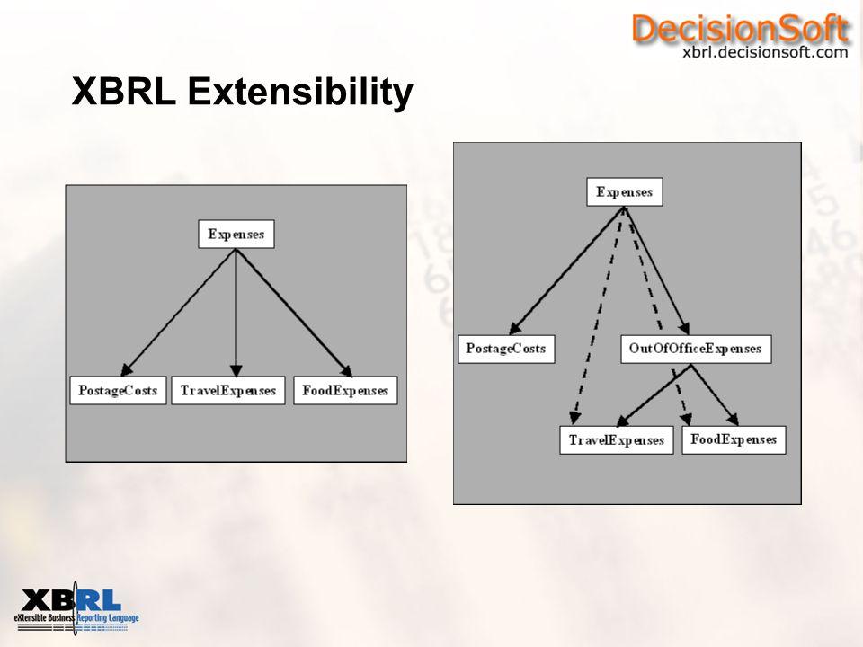 XBRL Extensibility