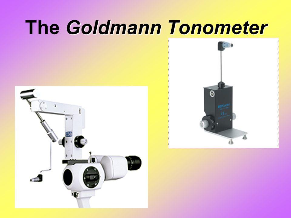 Goldmann Tonometer The Goldmann Tonometer