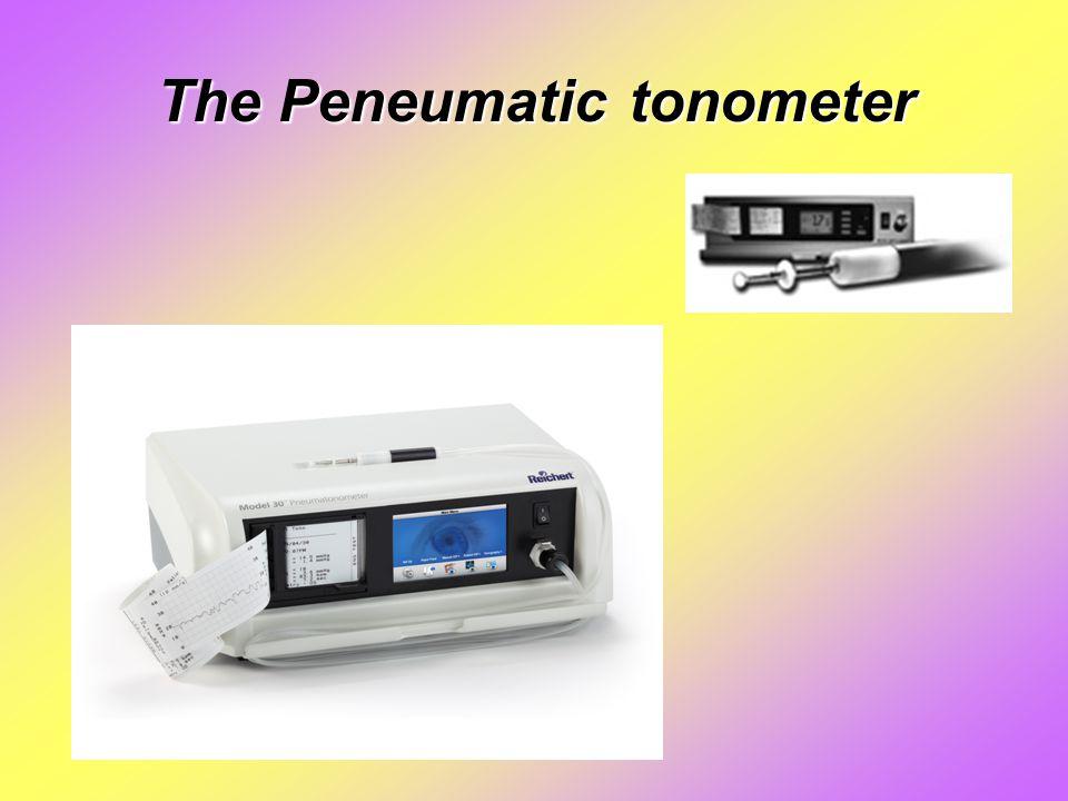 The Peneumatic tonometer