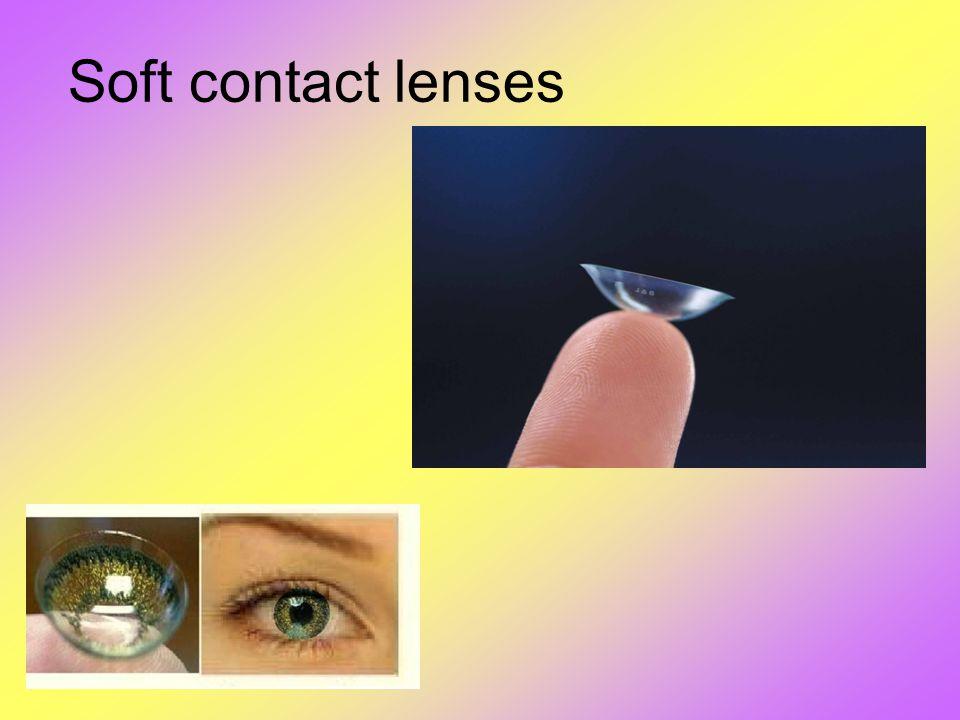 Soft contact lenses