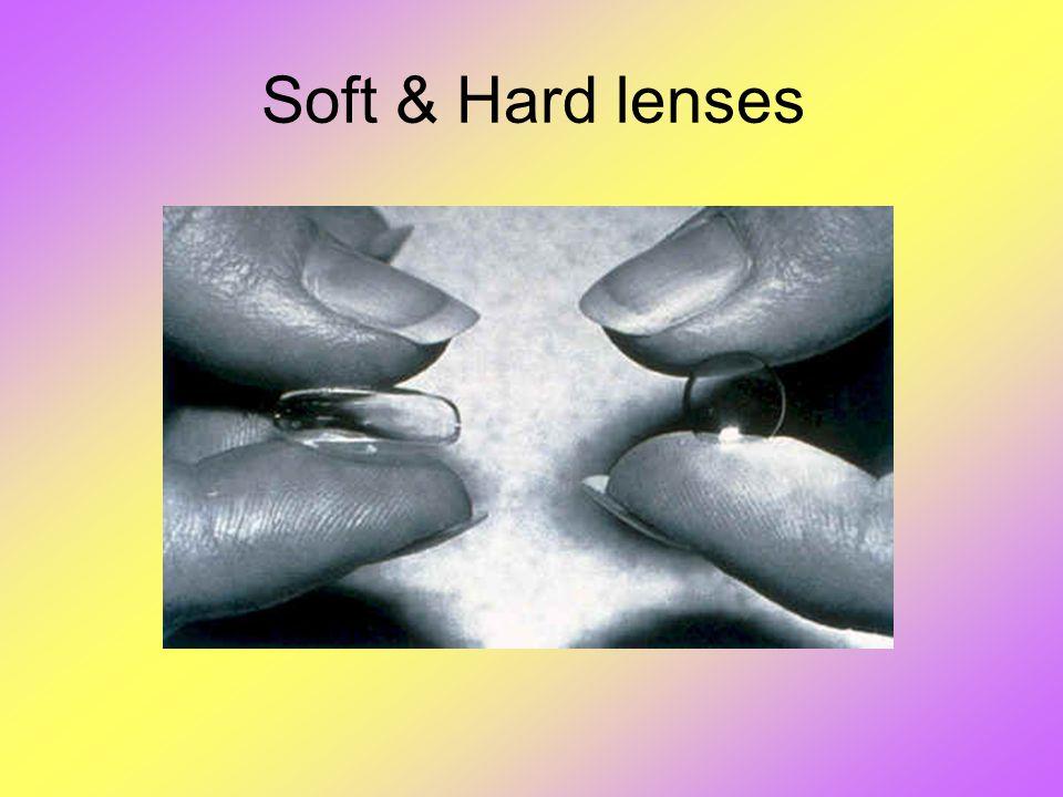 Soft & Hard lenses