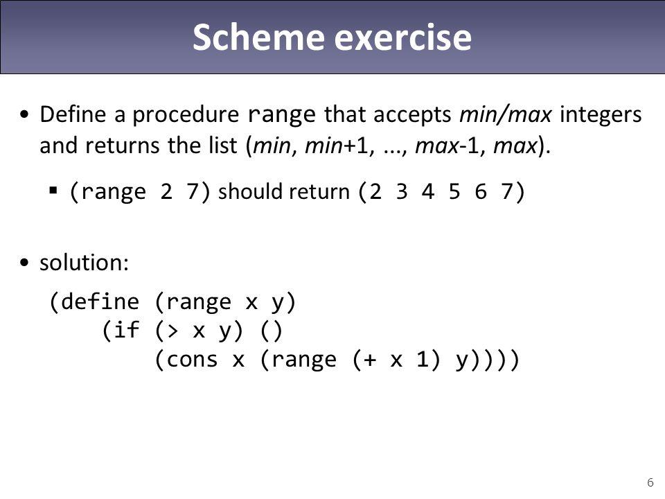 17 Anonymous procedures ( lambdas ) (lambda (param1...