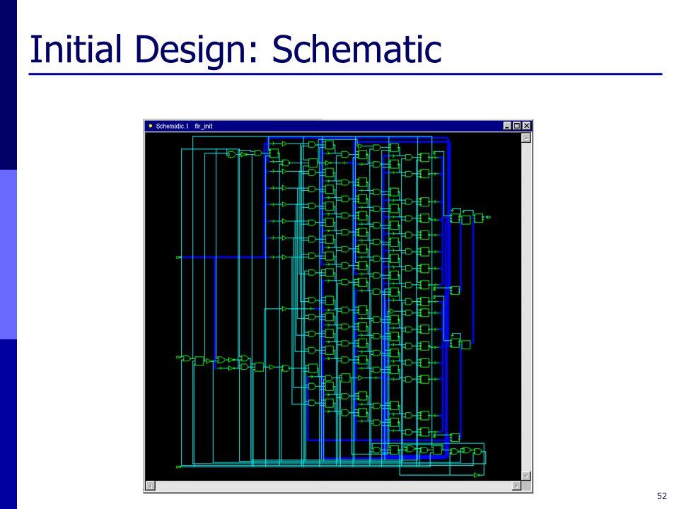 Initial Design: Schematic 52